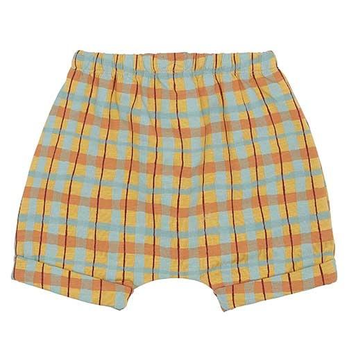 Soft Gallery Flair Shorts Narcissus AOP Check (Korte Broek)-5