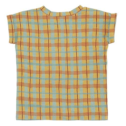 Soft Gallery Frederick T-shirt Narcissus AOP Check (Shirt)-5