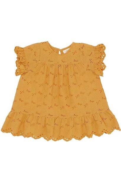 Soft Gallery Fianna Dress Sunflower (Jurk)