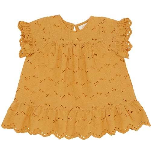 Soft Gallery Fianna Dress Sunflower (Jurk)-1