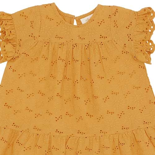 Soft Gallery Fianna Dress Sunflower (Jurk)-3