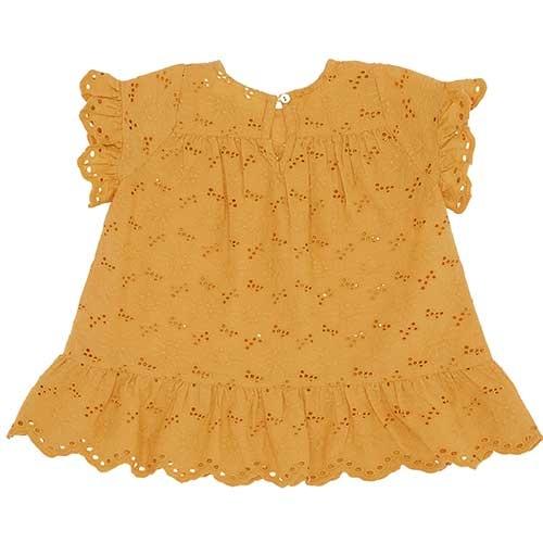 Soft Gallery Fianna Dress Sunflower (Jurk)-4