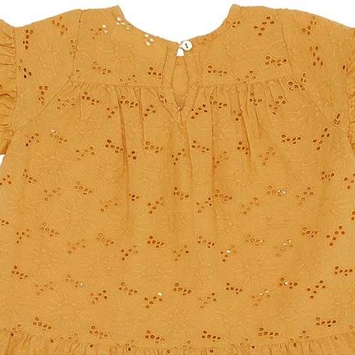 Soft Gallery Fianna Dress Sunflower (Jurk)-5