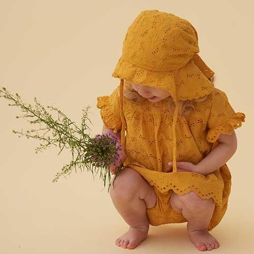Soft Gallery Fianna Dress Sunflower (Jurk)-6