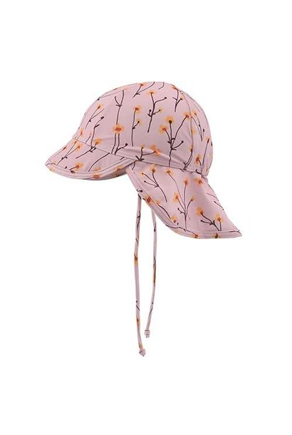 Soft Gallery Alex Sun Hat Dawn Pink AOP Buttercup S (Zonnehoed)