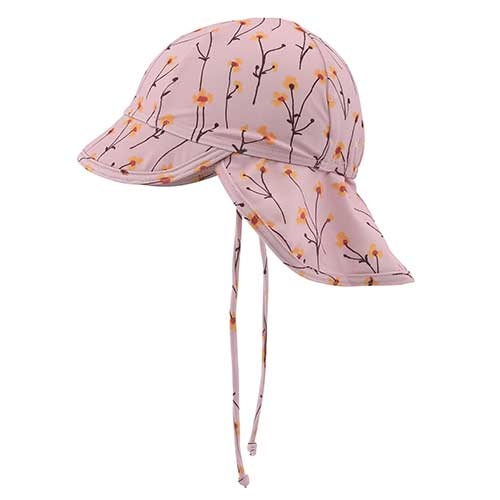 Soft Gallery Alex Sun Hat Dawn Pink AOP Buttercup S (Zonnehoed)-1