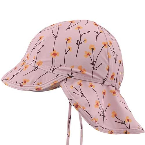 Soft Gallery Alex Sun Hat Dawn Pink AOP Buttercup S (Zonnehoed)-3