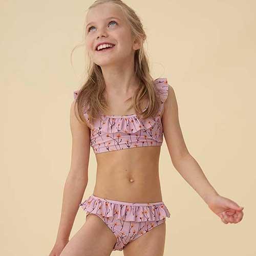 Soft Gallery Alicia Bikini Dawn Pink AOP Buttercup S (Zwemkleding)-6