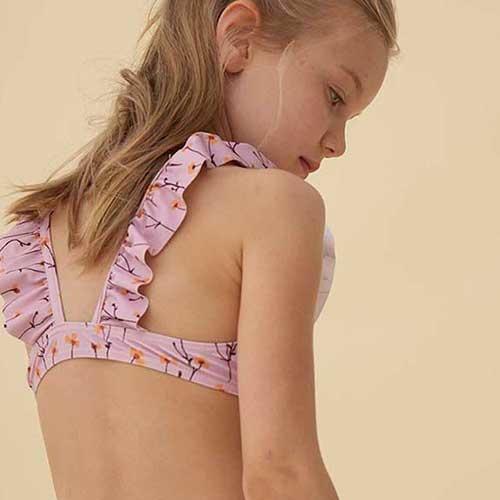 Soft Gallery Alicia Bikini Dawn Pink AOP Buttercup S (Zwemkleding)-7