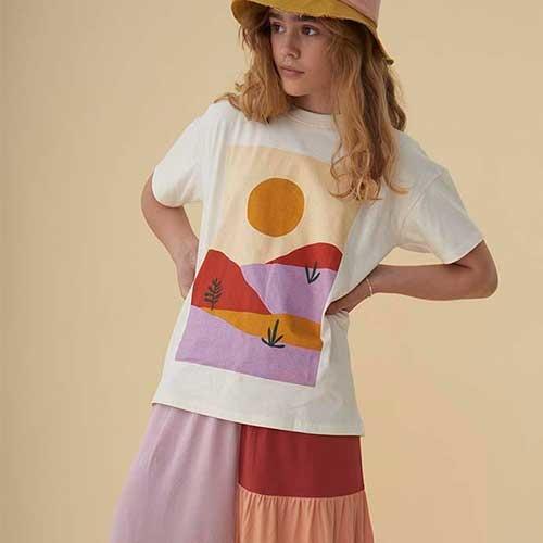 Soft Gallery Florenza Skirt Block SJ SS20 (Rok)-6
