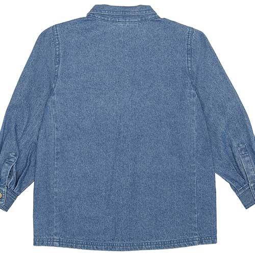 Soft Gallery Aspen Jacket Denim Blue Fishclub Emb (Blouse)-6
