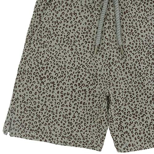 Soft Gallery Alisdair Shorts Shadow AOP Leospot (Korte Broek)-3