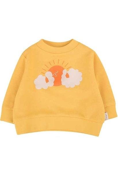 "Tinycottons ""Sun"" Sweatshirt yellow/brick (Trui)"