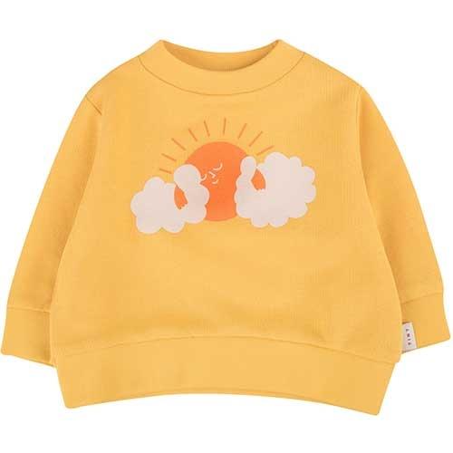 "Tinycottons ""Sun"" Sweatshirt yellow/brick (Trui)-1"