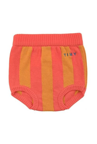 Tinycottons Stripes Bloomer red/brick (Broek)