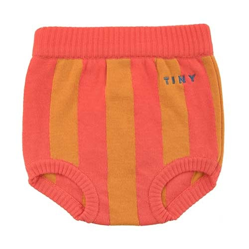Tinycottons Stripes Bloomer red/brick (Broek)-1