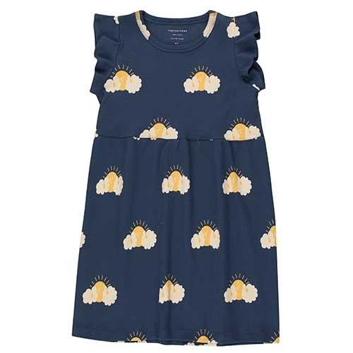 """Tinycottons """"Sleepy Sun"""" Dress light navy/yellow (Jurk)-1"""