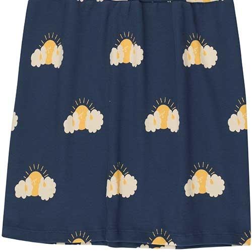 """Tinycottons """"Sleepy Sun"""" Dress light navy/yellow (Jurk)-3"""