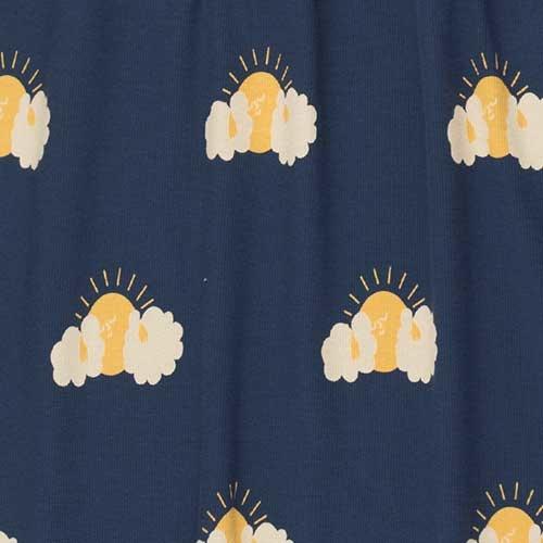 """Tinycottons """"Sleepy Sun"""" Dress light navy/yellow (Jurk)-4"""