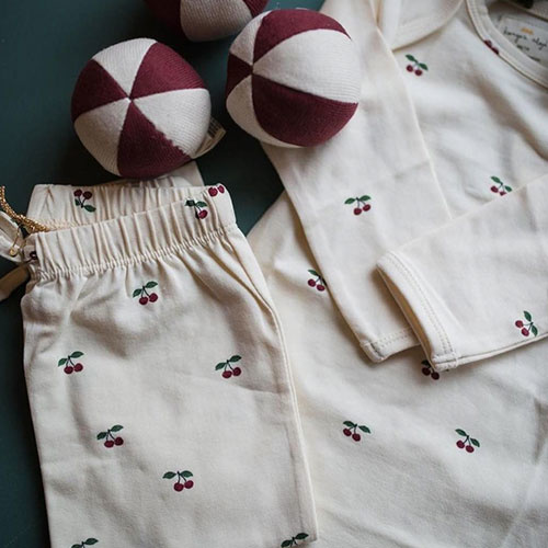 Konges Slojd Pants Cherry (Broek)-2
