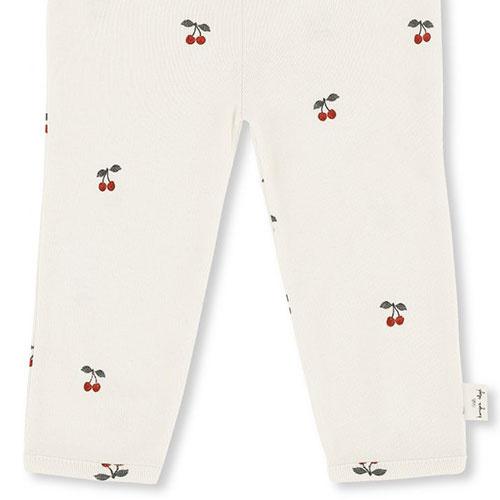 Konges Slojd New Born Pants Cherry (Broek)-4