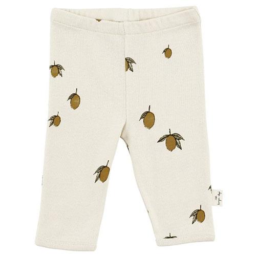 Konges Slojd New Born Pants Lemon (Broek)-1