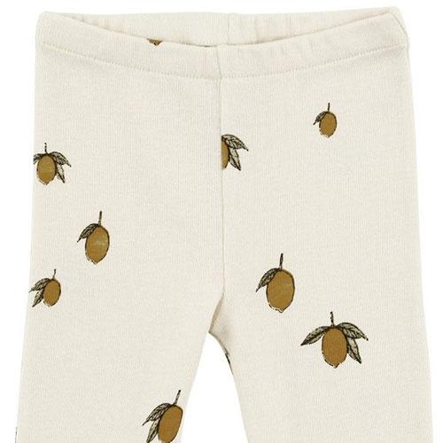 Konges Slojd New Born Pants Lemon (Broek)-3