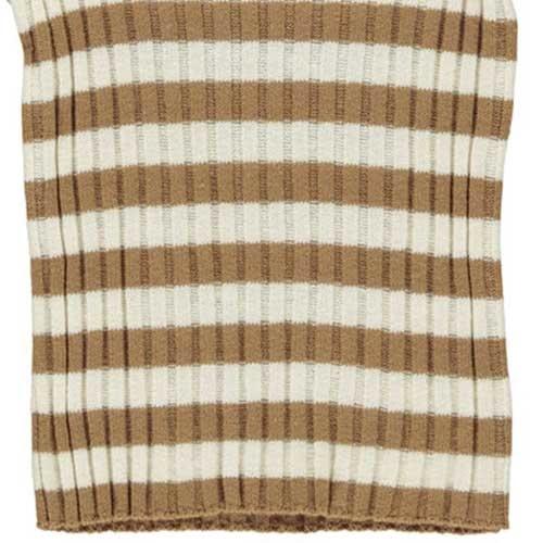 MarMar Copenhagen Toro Linen Mix Knitwear Caramel Stripe (Trui)-5