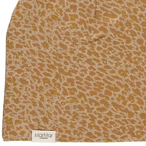 MarMar Copenhagen Leo Beanie Leopard Hat Unisex Pumpkin Pie (Muts)-3