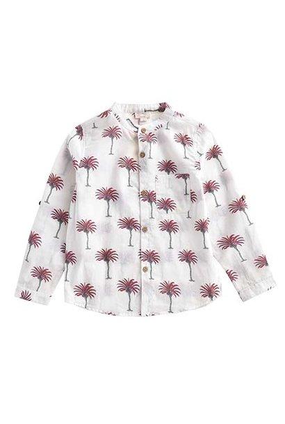 Louise Misha Boys Organic Shirt Amod White Tropical (Blouse)