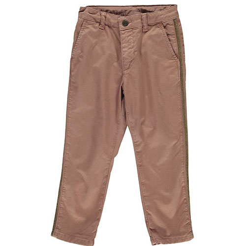 MarMar Copenhagen Paya Chino Twill Pants Rose Nut (Broek)-1