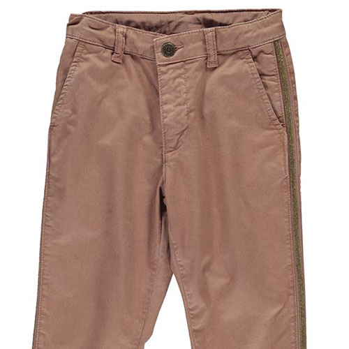 MarMar Copenhagen Paya Chino Twill Pants Rose Nut (Broek)-2
