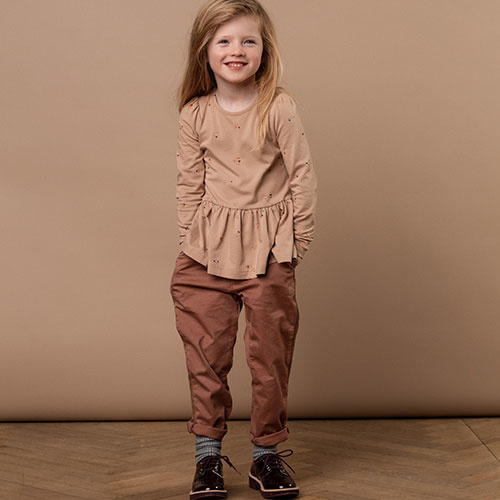 MarMar Copenhagen Paya Chino Twill Pants Rose Nut (Broek)-5