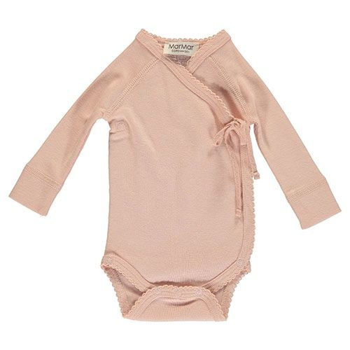 MarMar Copenhagen Belita Newborn Baby Body Rose (Romper)-1