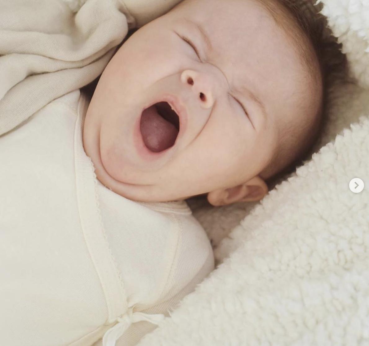 MarMar Copenhagen Belita Newborn Baby Body Gentle White (Romper)-3