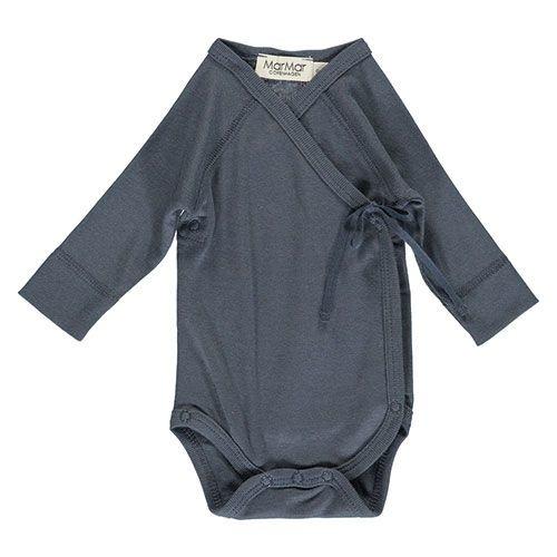 MarMar Copenhagen Belita Newborn Baby Body Blue (Romper)-1