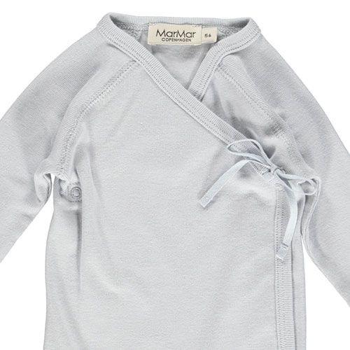 MarMar Copenhagen Belita Newborn Baby Body Pale Blue (Romper)-3