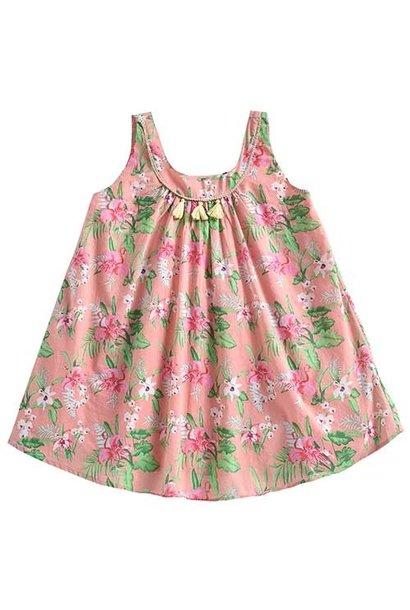 Louise Misha Dress Calkini Sienna Flamingo (Jurk)