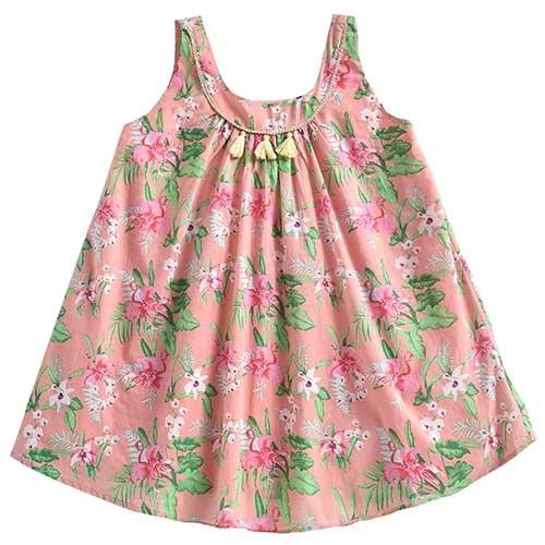 Louise Misha Dress Calkini Sienna Flamingo (Jurk)-1