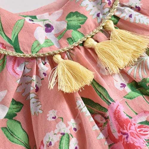 Louise Misha Dress Calkini Sienna Flamingo (Jurk)-7
