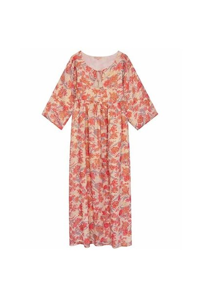 Louise Misha Woman Dress Gera Pink Flowers (Jurk)