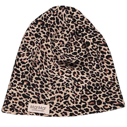 MarMar Copenhagen Leo Beanie Leopard Hat Brown Leo Panterprint (Muts)-1