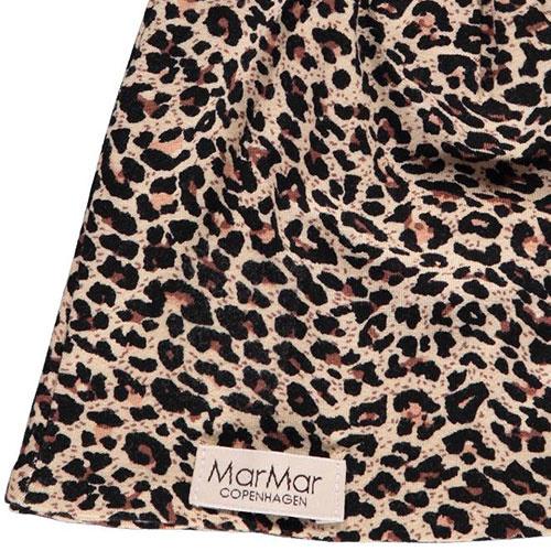 MarMar Copenhagen Leo Beanie Leopard Hat Brown Leo Panterprint (Muts)-2
