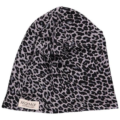 MarMar Copenhagen Leo Beanie Leopard Hat Grey Leo Panterprint (Muts)-1