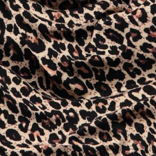 MarMar Copenhagen Leo Dry Bib Brown Leopard Panterprint (Halsdoekje)-4