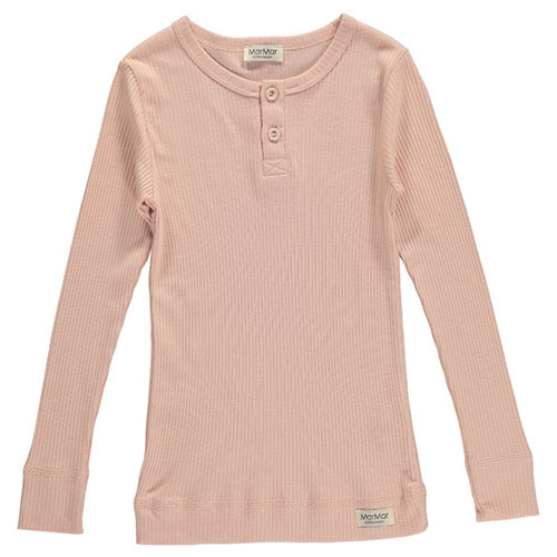 MarMar Copenhagen Basic Tee LS Rose (T-shirt)-1