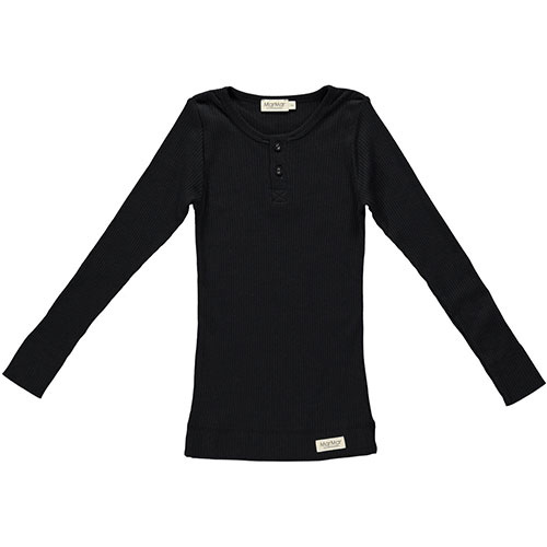 MarMar Copenhagen Basic Tee LS Black (T-shirt)-1