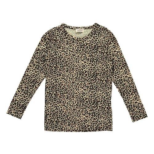 MarMar Copenhagen Leo Tee LS Brown Leo (t-shirt)-1