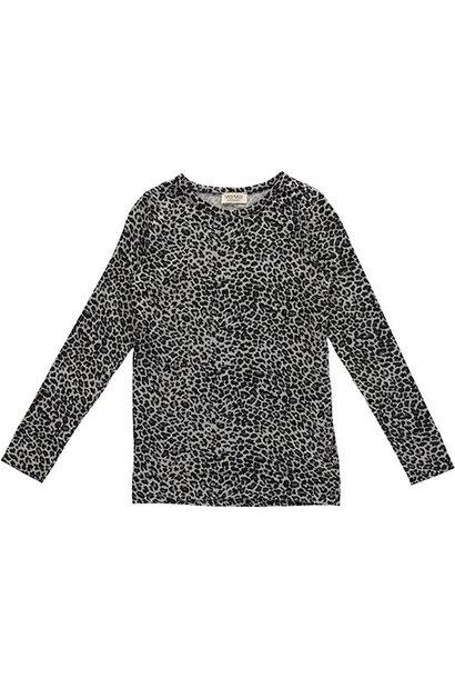 MarMar Copenhagen Leo Tee LS Grey Leo (t-shirt)