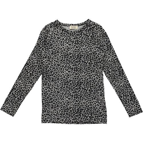 MarMar Copenhagen Leo Tee LS Grey Leo (t-shirt)-1